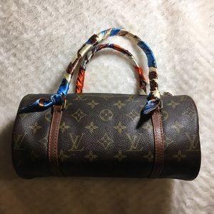 LV papillon bag